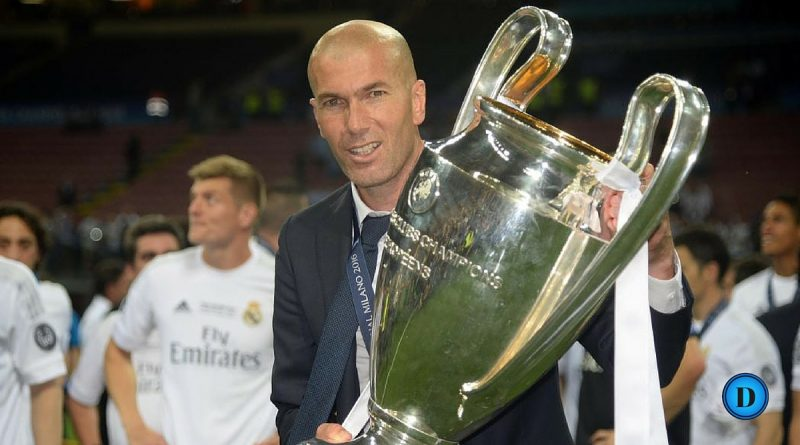 Zinade entraîneur Real Madrid