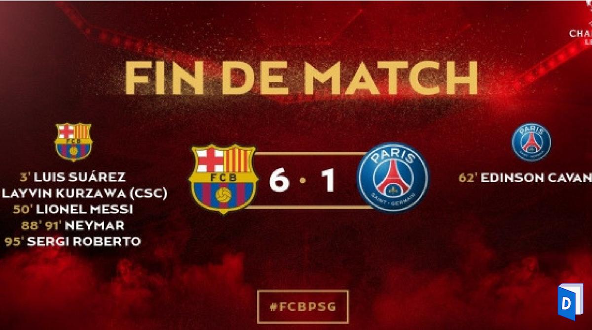 Barcelone PSG