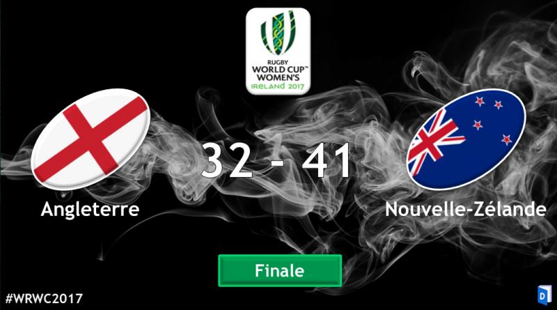 Angleterre Nouvelle Zélande - Finale Coupe du monde de rugby