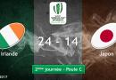 Poule C : l'Irlande a tremblé mais bat le Japon (24-14)
