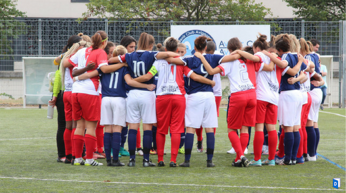 As Monaco Féminin premier match