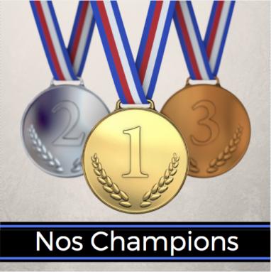 Nos champions