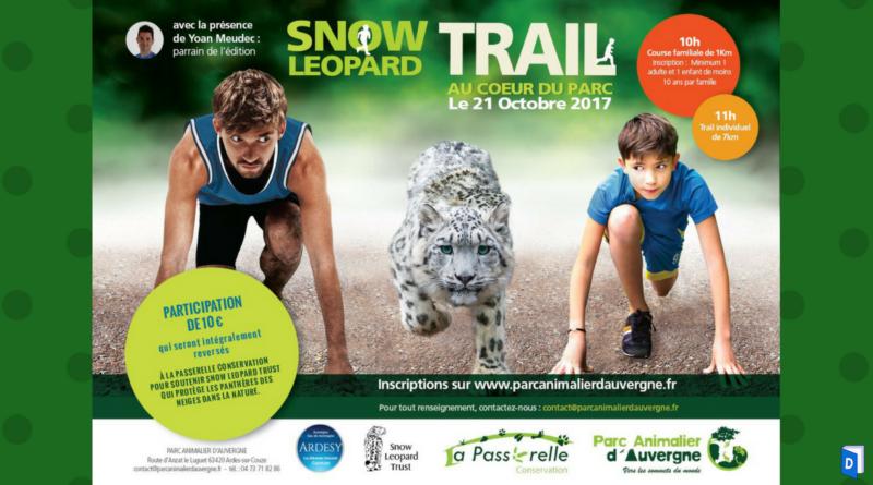 Trail Parc animalier d'Auvergne