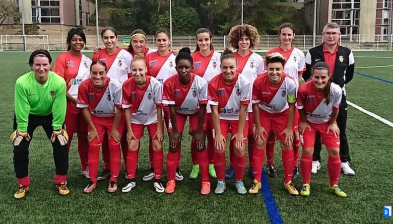 AS Monaco Féminin premiere victoire