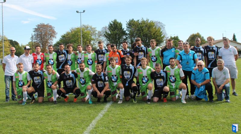 Le vestiaire de l'ASCCL #4 élimination en Coupe Régionale de Nouvelle-Aquitaine