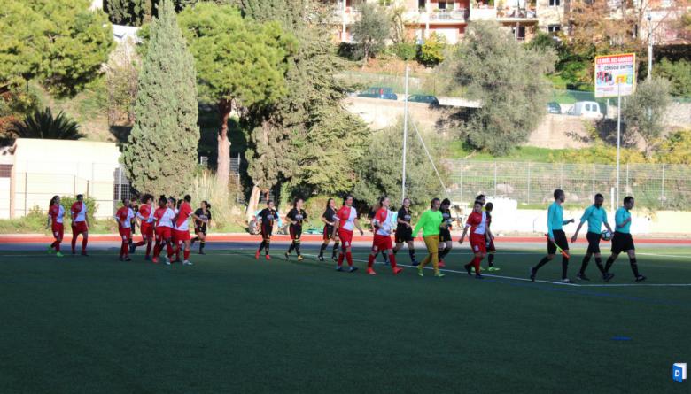 AS Monaco feminin FC Rousset