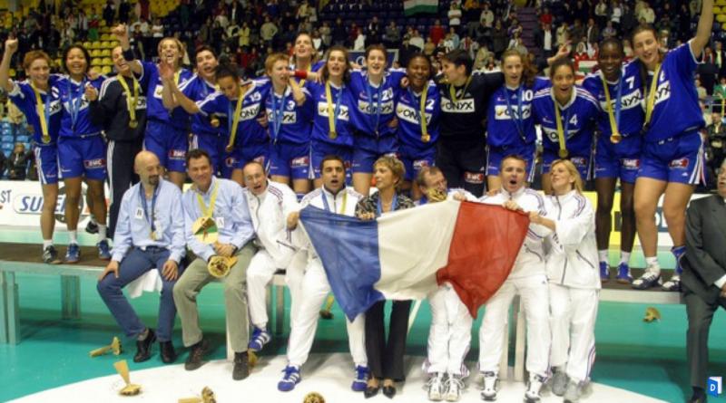 2003 l 39 quipe de france f minine de handball sur le toit du monde blog - Coupe de france feminine handball ...