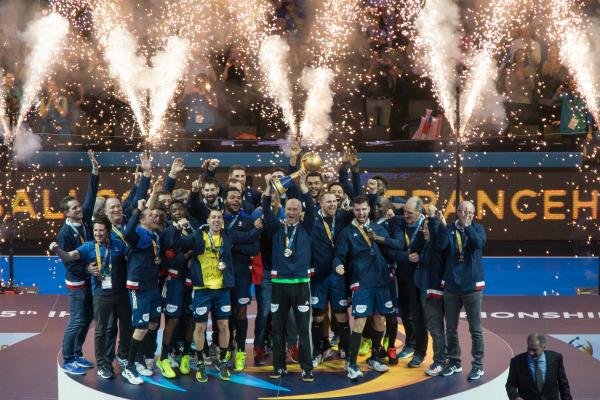 Handball r tro 2017 des quipes de france sur le toit du monde blog - Hand ball coupe du monde ...