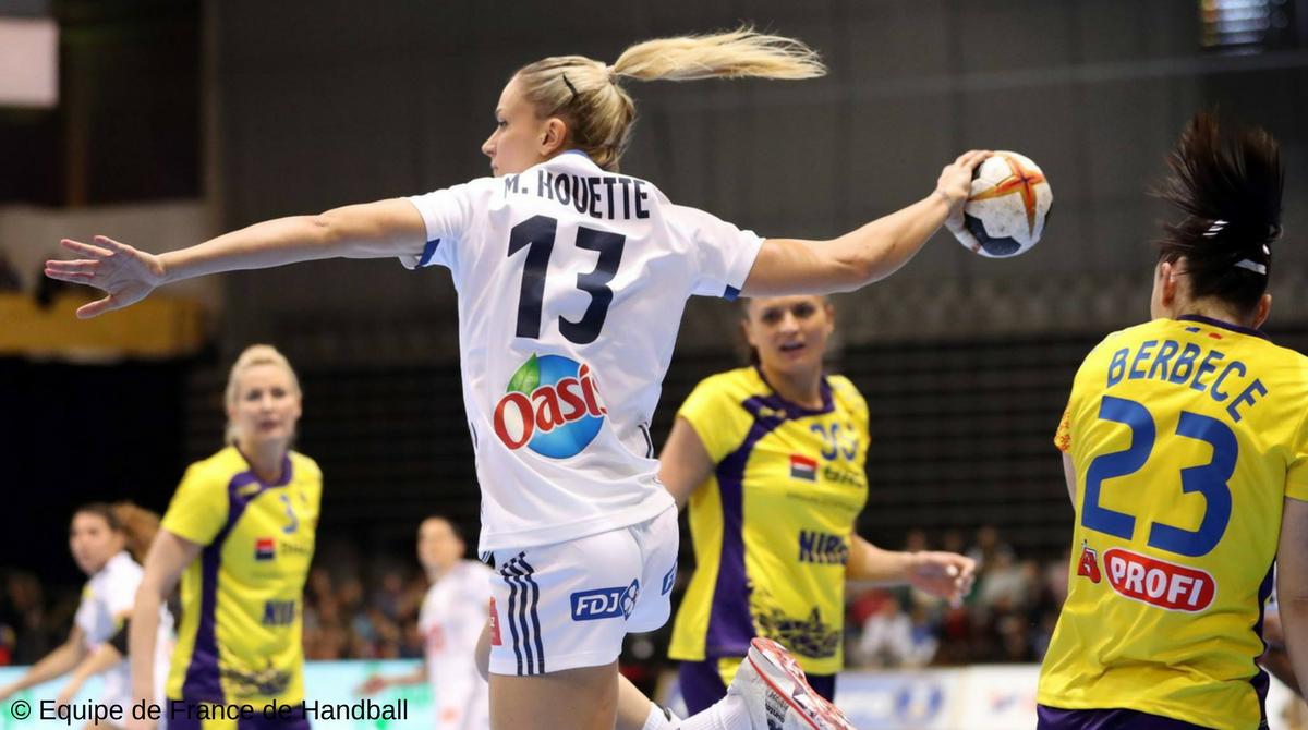Handball France Montenegro