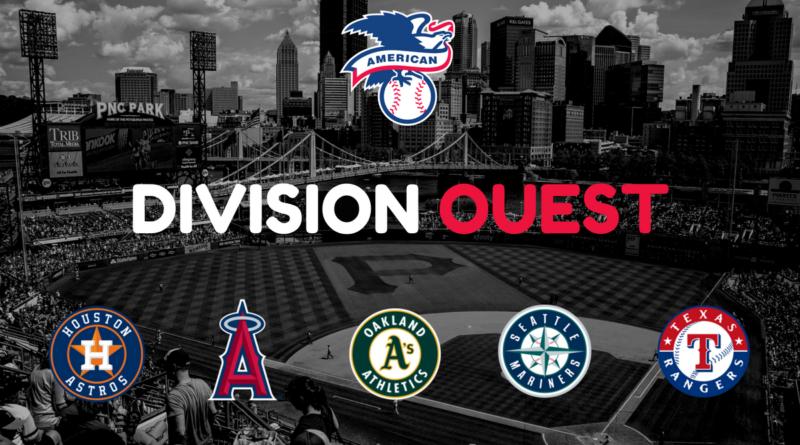 Le nom des franchises MLB - Ligue Américaine Division Ouest