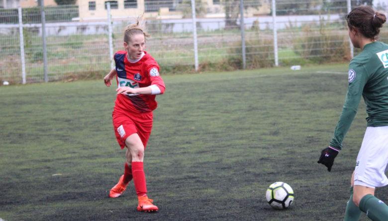 Charlotte Ciupa, ex-milieu droit de l'AS Monaco Football Féminin