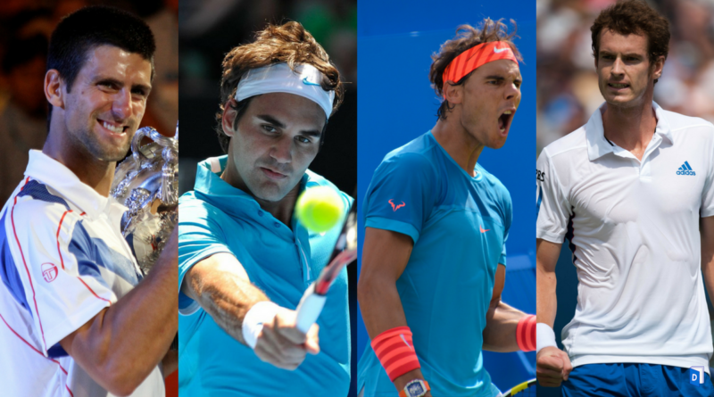 Federer Nadal Djokovic Murray