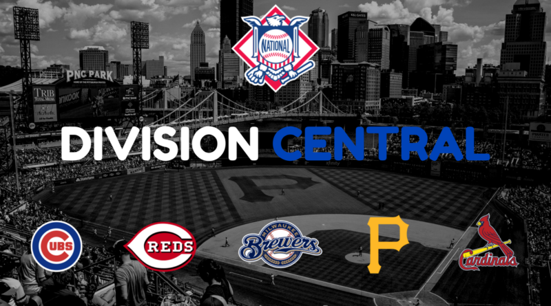 Le nom des franchises MLB - Ligue Nationale Division Centrale
