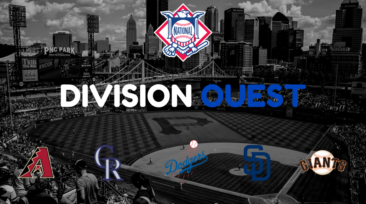 Le nom des franchises MLB - Ligue Nationale Division Ouest