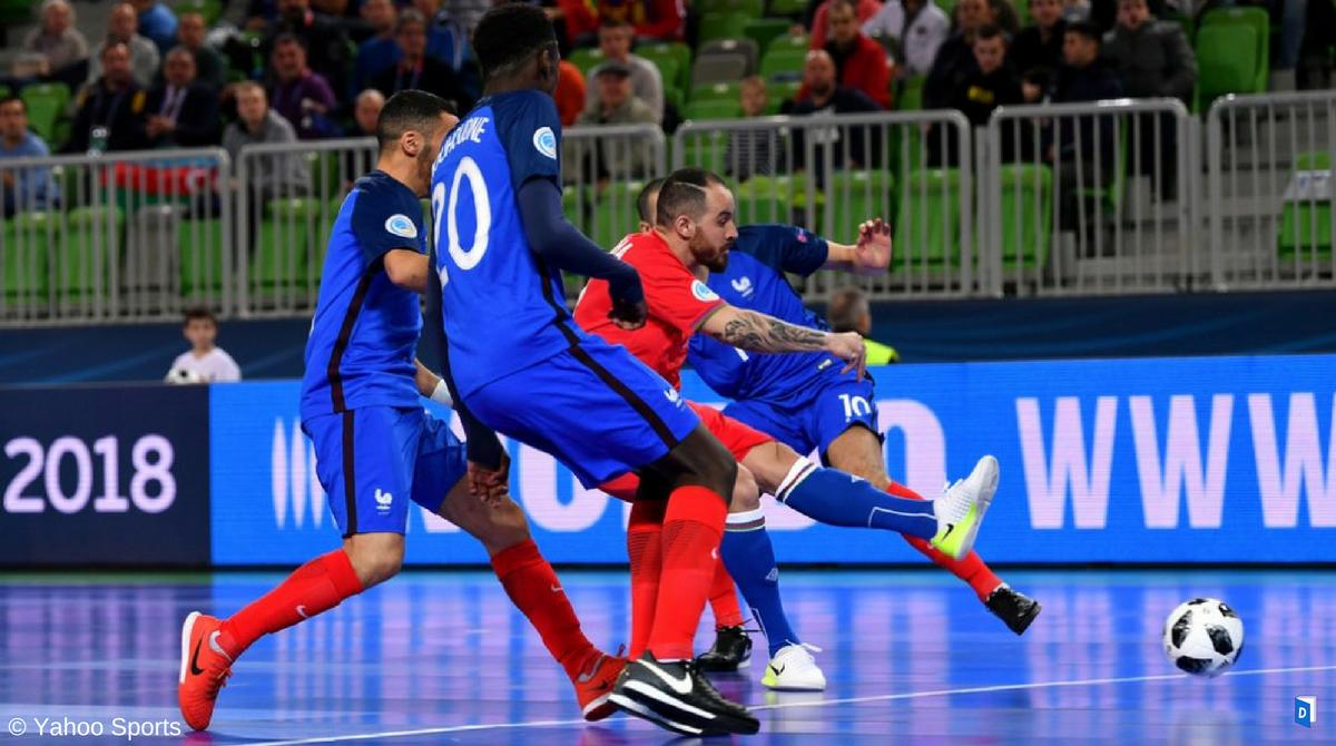 Futsal France Azerbaïdjan