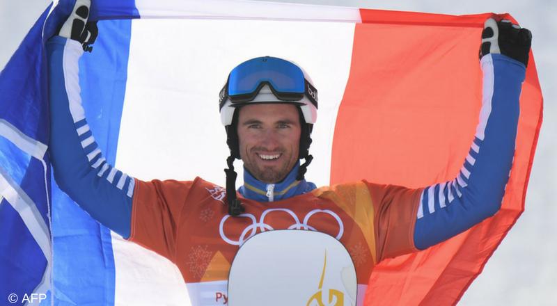 Pierre Vaultier, champion olympique de snowboardcross pour le 2ème fois de sa carrière