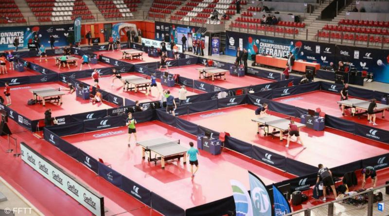 Championnat de france de tennis de table retour sur la - Championnat d europe de tennis de table ...