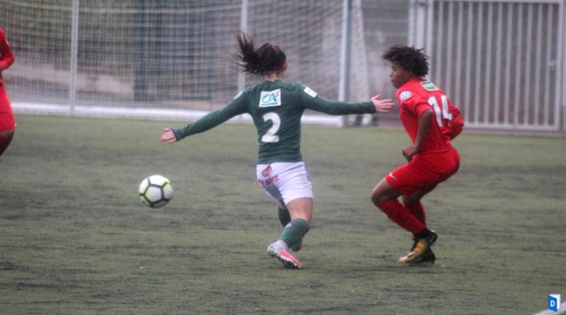 Erika Da Cruz latérale gauche de l'AS Monaco Football Féminin