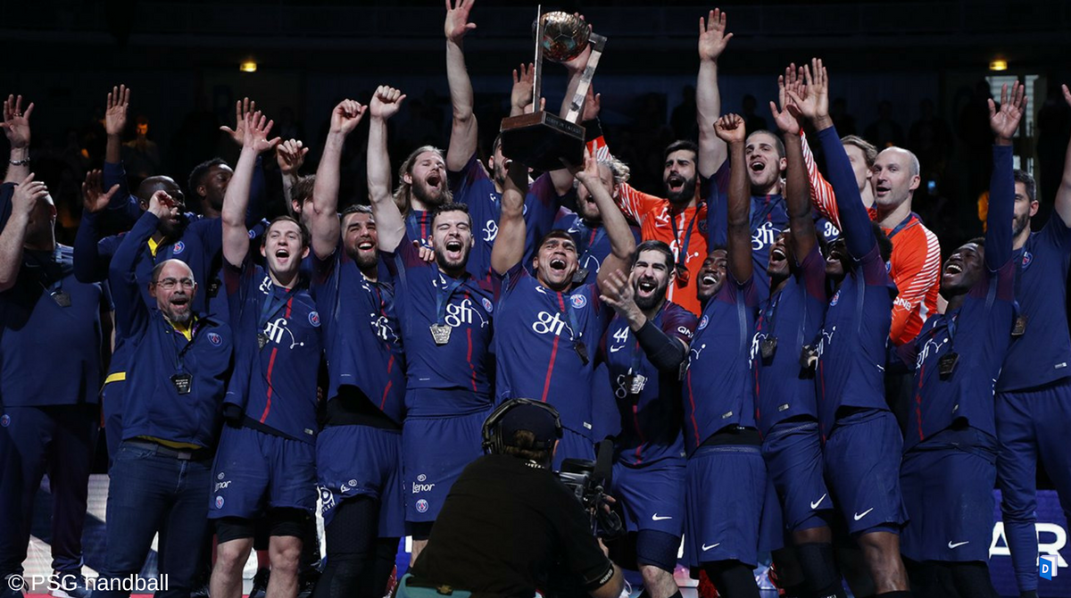 L 39 quipe du week end le psg handball conserve la coupe - L equipe coupe de la ligue ...