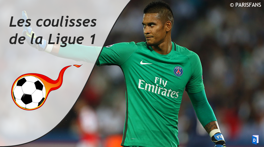 Alphonse Areola Coulisses de la Ligue 1