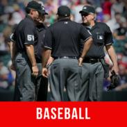 Arbitrage vidéo Baseball