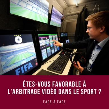 Face à face – arbitrage vidéo dans le sport