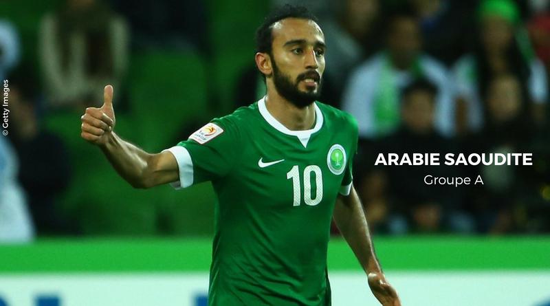 Présentation Arabie Saoudite Groupe A Coupe du monde