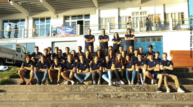 équipe de France juniors aviron Vichy