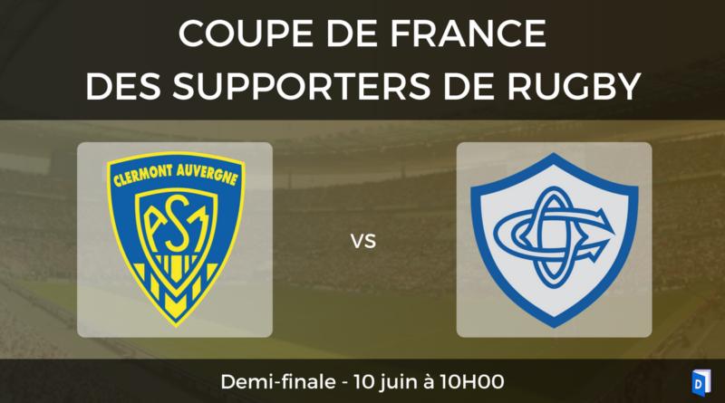 Demi-finale ASM Clermont Auvergne - Castres Olympique