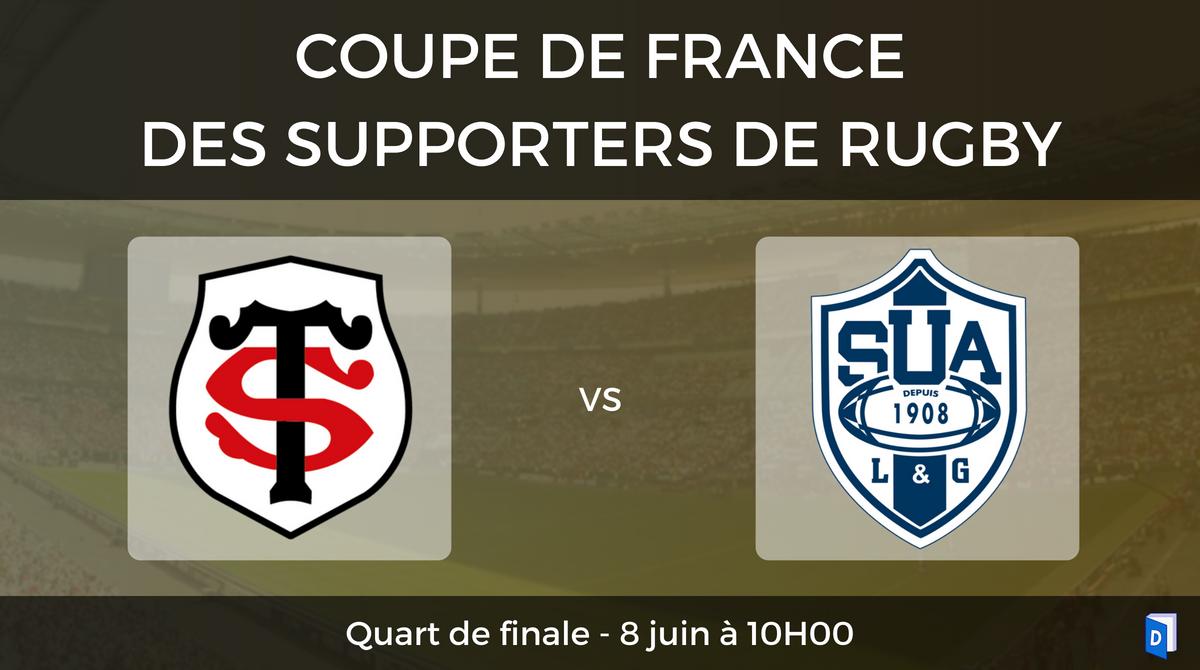 Quarts de finale Stade Toulousain - SU Agen