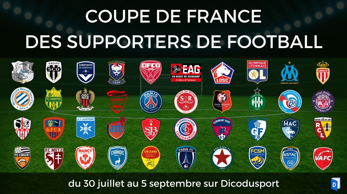 Coupe de France des supporters de football Programme