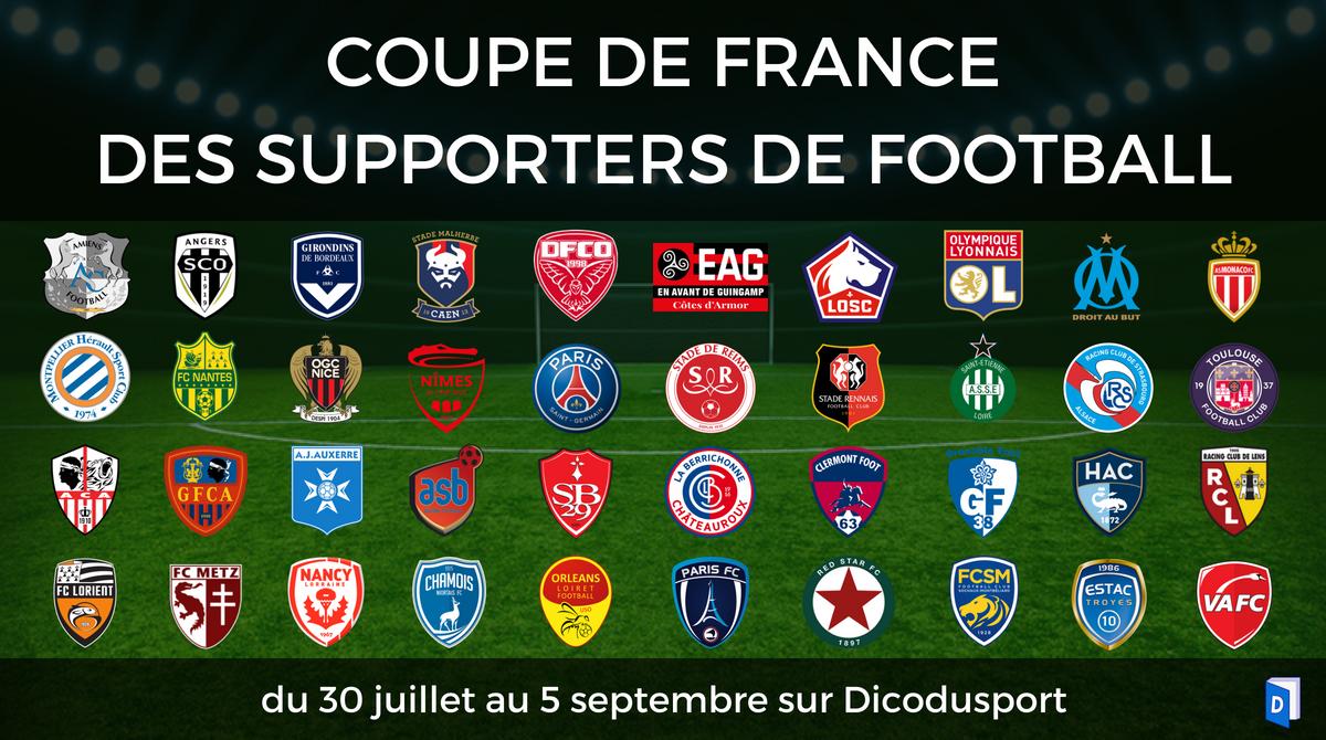 Coupe de France des supporters de football Programme