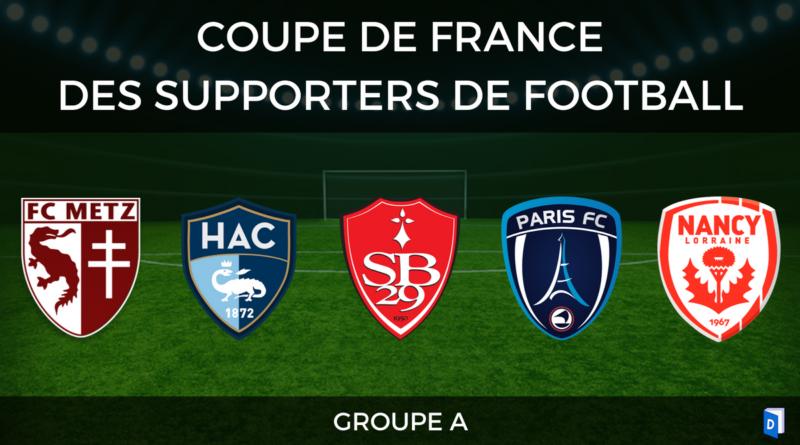 Groupe A - Coupe de France des supporters de football