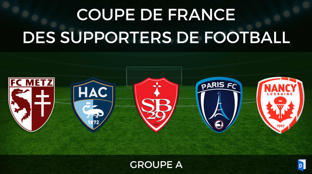 Groupe A - Coupe de France des supporters de football