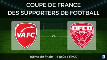 Coupe de France des supporters de football – 16ème de finale Valenciennes vs Dijon FCO