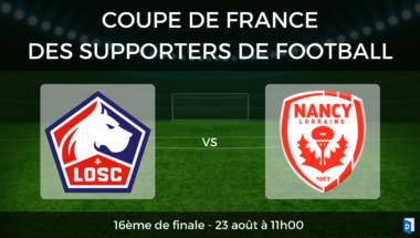 Coupe de France des supporters de football – 8ème de finale LOSC Lille vs AS Nancy