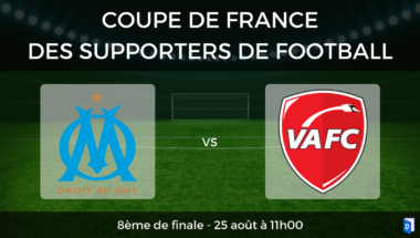 Coupe de France des supporters de football – 8ème de finale OM vs Valenciennes