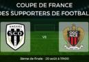 Coupe de France des supporters de football – 8ème de finale : SCO Angers vs OGC Nice