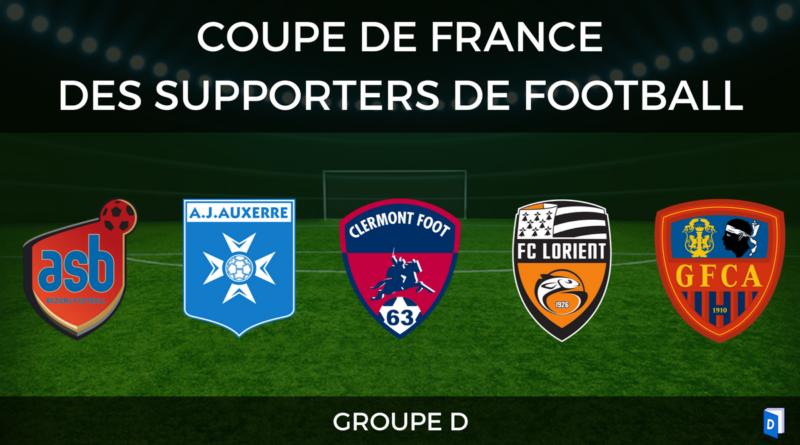 Groupe D - Coupe de France des supporters de football