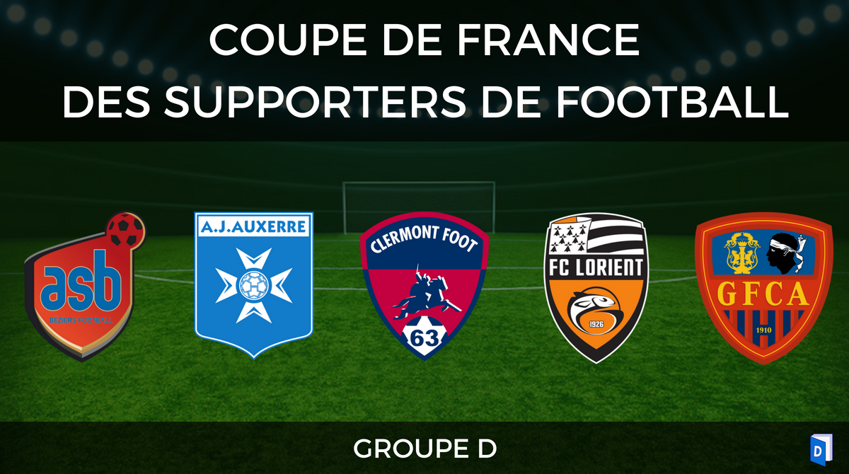 Groupe D - Coupe de France des supporters de football