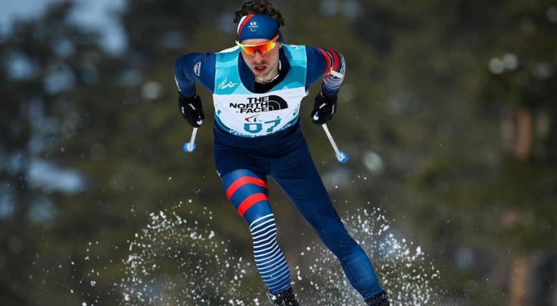 Benjamin Daviet, triple champion paralympique à Pyeongchang – AFP