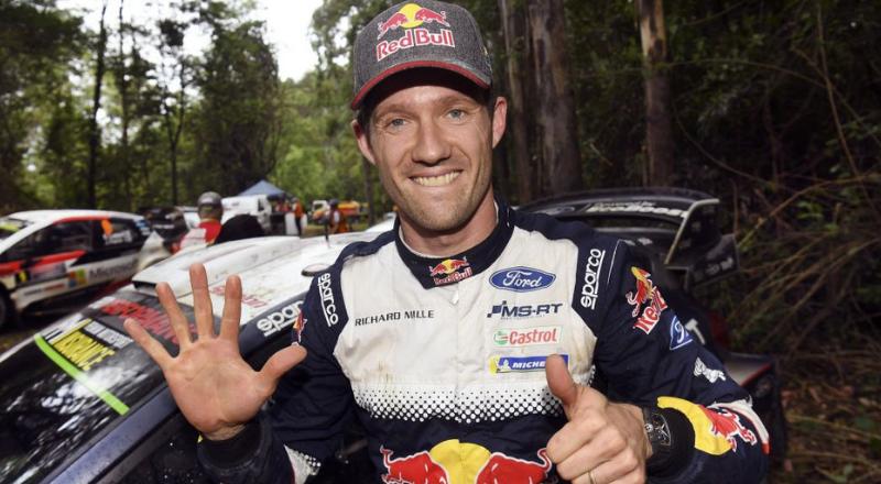 Sébastien Ogier, champion du monde des rallyes pour le 6ème fois consécutive – Getty Images