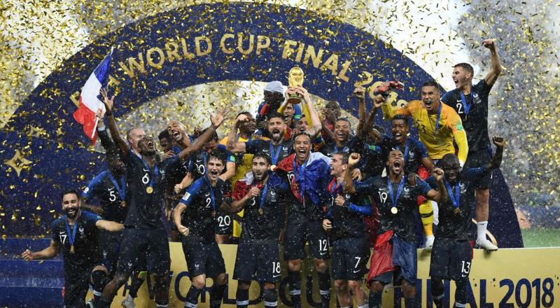L'équipe de France de football championne du monde pour la deuxième fois – AFP