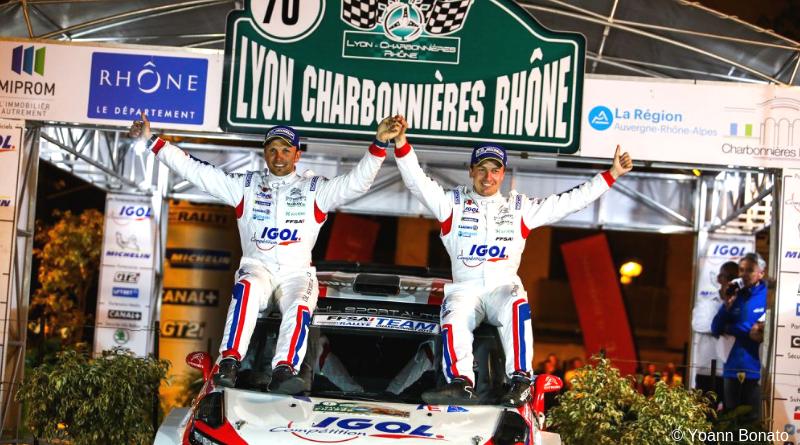 Rallye Lyon-Charbonnières, c'est reparti pour un tour