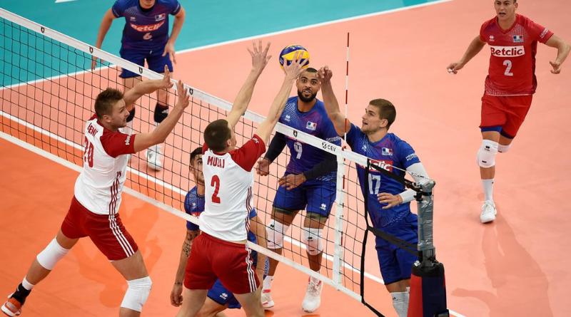 EuroVolley (H) - La France battue par la Pologne lors de la petite finale