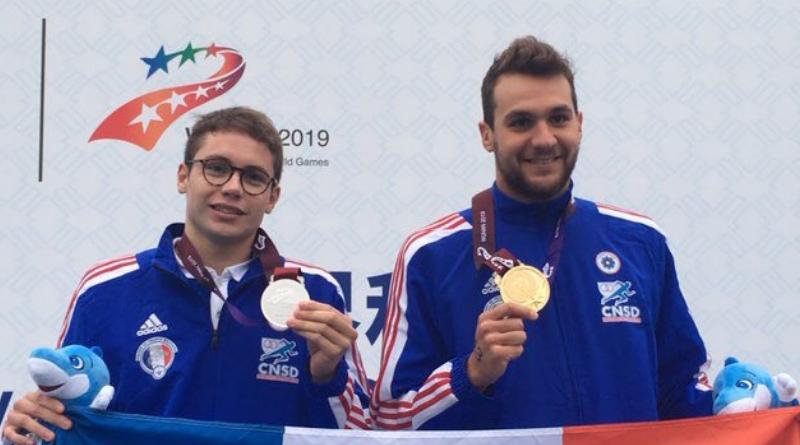 Jeux Militaires de Wuhan - Pluie de médailles pour l'équipe de France en Eau libre