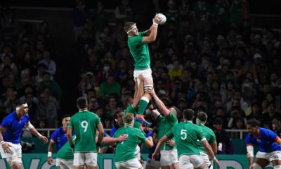 L'Irlande verra les quarts de finale après sa victoire face aux Samoa
