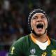 La composition de l'Afrique du Sud pour défier l'Angleterre en finale