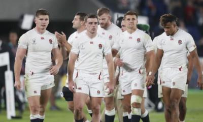 La composition de l'Angleterre pour affronter l'Afrique du Sud en finale