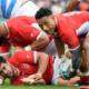 La composition des Tonga pour affronter le XV de France